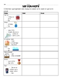 FRENCH IMMERSION SOLUTIONS WORKSHEET