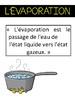 FRENCH IMMERSION Water cycle -- le cycle de l'eau UNIT