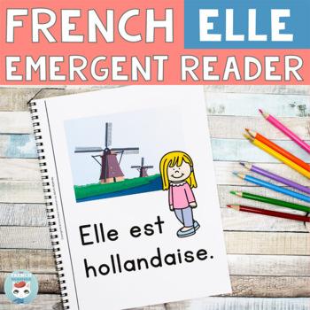 FRENCH Emergent Reader - ELLE est (nationalité)