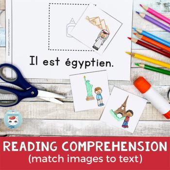 FRENCH Emergent Reader - IL est (nationalité)