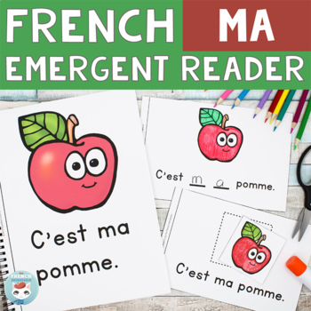 FRENCH Emergent Reader - C'est MA
