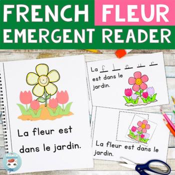 FRENCH Emergent Reader - La FLEUR