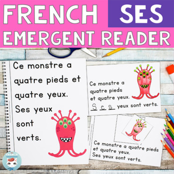 FRENCH Emergent Reader - SES (monstres)