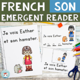 FRENCH Emergent Reader - SON (animal domestique)
