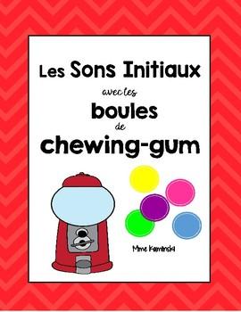 Initial Sounds FRENCH - Les Sons Initiaux avec les boules de chewing-gum