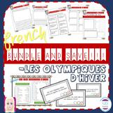 FRENCH:  JEUX OLYMPIQUES D'HIVER BUNDLE!!!
