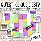 FRENCH Jeu de communication orale - Pâques (Easter Oral Co