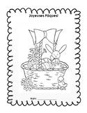 FRENCH- Joyeuses Paques activity book/ livret