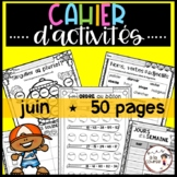 FRENCH June Worksheets/ Cahier d'activités de juin - Dista