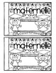 FRENCH Kindergarten Graduation Book