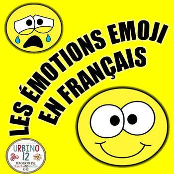 FRENCH: LES ÉMOTIONS  EMOJI