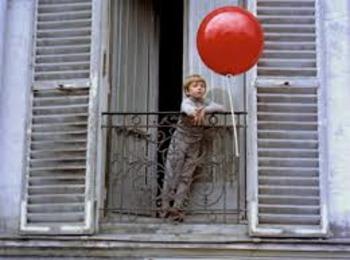 FRENCH:  LE BALLON ROUGE (SMARTBOARD)