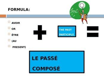 FRENCH: LE  PASSÉ COMPOSÉ (INTRO)