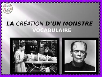 French: La Création  d'un Monstre