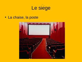 FRENCH: La Vengeance des Monstres Act II Vocabulary