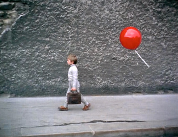 FRENCH LESSON:  Red Balloon Worksheet
