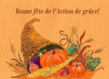FRENCH: Thanksgiving Vocabulary Activity