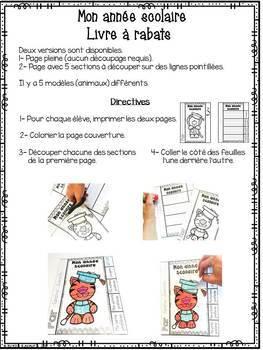 FRENCH Last Weeks of School Activities/Activités - Dernières semaines d'école