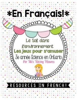 FRENCH: Le Sol dans l'environnement |Grade 3 Ontario Science | Fun & Games |