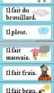 FRENCH- Le Temps- Quel temps fait-il? (Weather) Activities, Flash cards and more