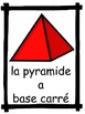FRENCH: Les Formes - Shapes Mini-Unit: 2D and 3D shapes