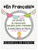 FRENCH: Les forces et le mouvement |Grade 3 Ontario Science| Fun & Games