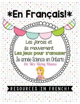 FRENCH: Les forces et le mouvement |Grade 3 Ontario Science| Fun & Games