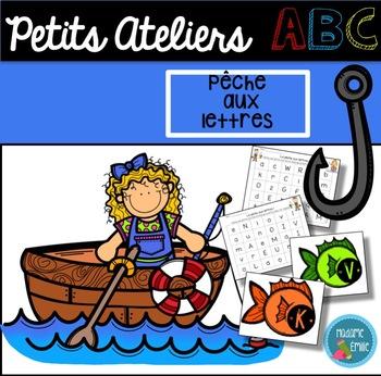 FRENCH Letters Fishing Center/ Atelier La pêche aux lettres
