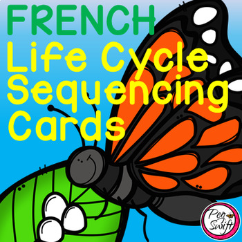 FRENCH Life Cycle Sequencing Cards