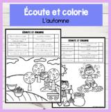 FRENCH Listen and Colour! L'automne | Compréhension orale