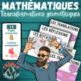 FRENCH MATH 6 - TRANSFORMATIONS - PAPERLESS/ENSEIGNEMENT S
