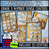 FRENCH MATH CENTERS - NUMBER SENSE AND NUMERATION (GRADE 3)
