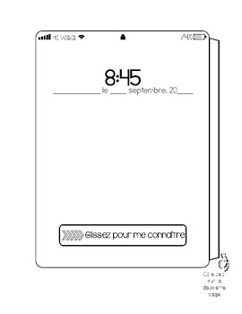 FRENCH ALL ABOUT ME TABLET FOR BACK-TO-SCHOOL - TABLETTE ME VOICI/TOUT SUR MOI