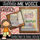 #francophonie2019 FRENCH ALL ABOUT ME TABLET FOR BACK-TO-SCHOOL - ME VOICI