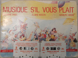MUSIC FRENCH MUSIQUE S'IL VOUS PLAIT instructions+2 TAPES TEACHER SONGBOOK