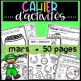 FRENCH March Worksheets/ Cahier d'activités de mars