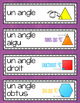 FRENCH Math Word Wall Labels - Measurement / Les mesures