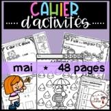 FRENCH May Worksheets/ Cahier d'activités de mai - Distanc