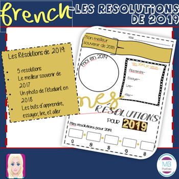 FRENCH:  Mes résolutions