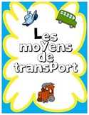 FRENCH Methods of Transportation / Moyen de Transport Mini - Unit