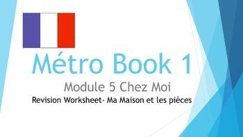 FRENCH - Métro Book 1 Mod 5 - Ma maison et les pièces - RE