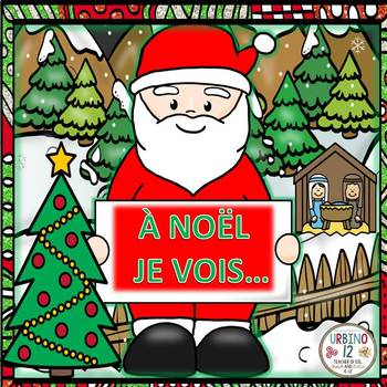 FRENCH: NOËL Coloring