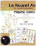 FRENCH New Year Games and Activities : Le nouvel an jeux et activités