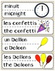 FRENCH New Year Games and Activities : Le nouvel an jeux et activités