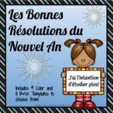 FRENCH - New Year Resolutions 2018 / Les Bonnes Résolutions du Nouvel An 2018