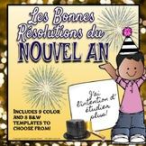 FRENCH - New Year Resolutions 2019 / Les Bonnes Résolutions du Nouvel An 2019