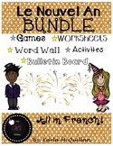 FRENCH New Years activities BUNDLE: Le nouvel an activités