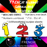 FRENCH Number Games and Activities : Les nombres / Les chiffres