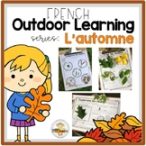FRENCH Outdoor Learning Activities for Fall (Distance Learning)