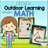 FRENCH Outdoor Learning - Math Activities